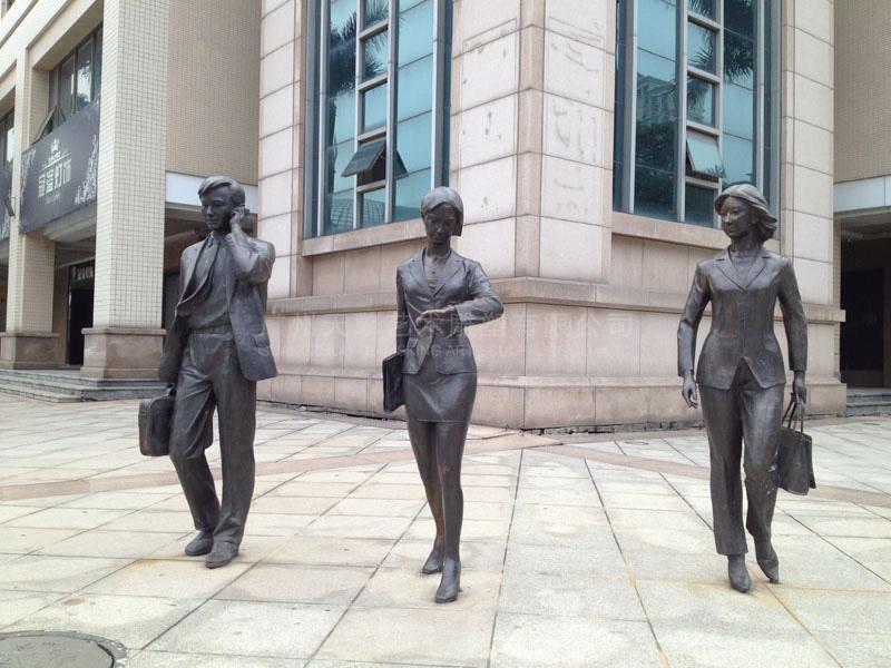 广场人物雕塑设计公司