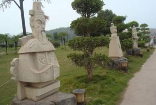 古代 人物石材雕塑